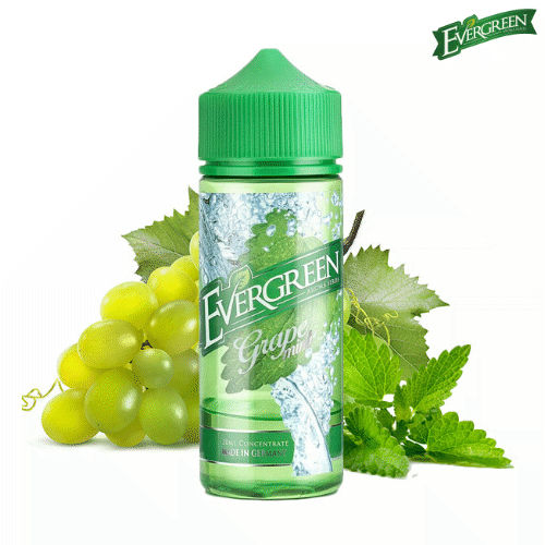 Grape Mint - Evergreen - 30ml Aroma
