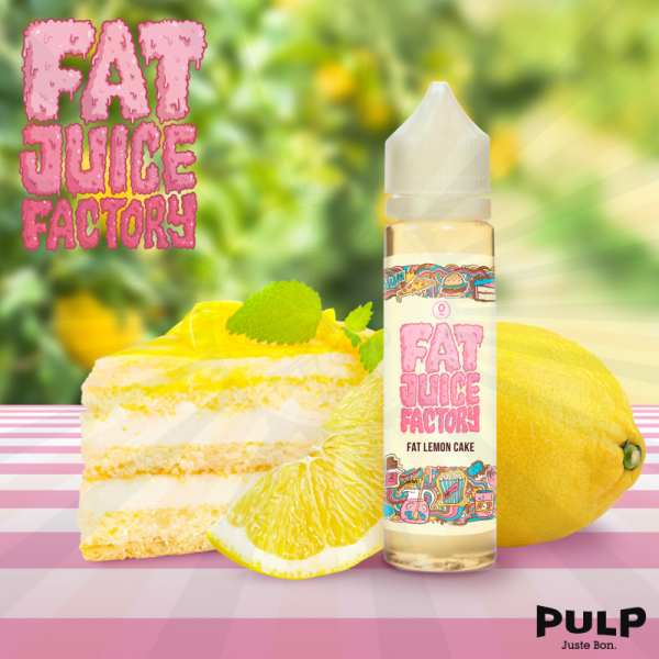 PULP Fat Juice Factory - Fat Lemon Cake