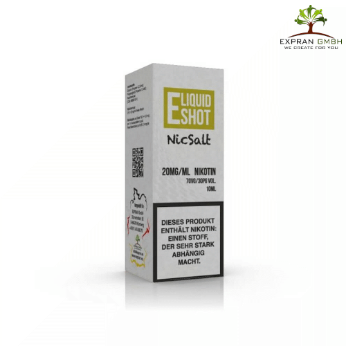 E Liquid Shot Nic Salt 70VG/30PG 20MG/ML